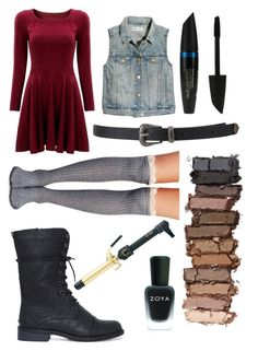 Untitled #224 by lia-directionesse on Polyvore featuring polyvore, fashion, style, Madewell, Wet Seal, Forever 21, Urban Decay, Max Factor, Zoya and Hot Tools