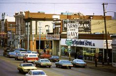 Whyte Ave 1980's I Am Canadian, Vintage Ephemera, Alberta Canada, Capital City, Back In The Day, Amazing Places, Street Photography, Hot Rods, Places To See