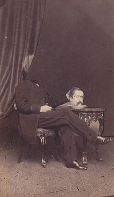 Headless Portrait From the 19th Century