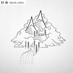 I adore everything @david_rollyn creates. I use his simple images to lead my fourth graders in directed drawing lessons. They always feel…