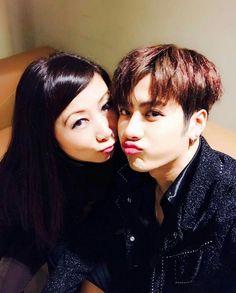 Jackson and his mom ♡