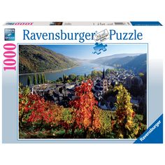 See for yourself why Germany is revered as one of Europe's most beautiful countries. Take a breathtaking trip down the River Rhine as you piece together this beautiful 1000-piece premium puzzle. Brand