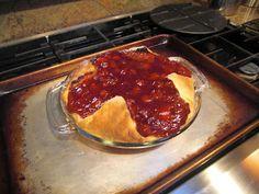 Frazgo Feasting: Cherry Cream Cheese Pie
