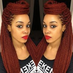 Sometimes, I miss braids Twist Styles, Braid Styles, Protective Hairstyles, Braided Hairstyles, Protective Styles, Love Hair, My Hair, Dreads, Beautiful Braids