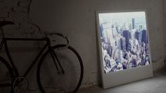 Super cool - Polaboy Picture Frames by Lightboys a luminous, large-scale Polaroid frame. The Polaboy combines LED technology with a enlarged Polaroid image in a backlit frame. Muro Instagram, Instagram Wand, Frame Light, Light Up, Light Panel, Grand Cadre Photo, Led Shop, Francis Picabia, Polaroid Frame