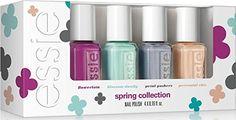Vernis à ongles Essie 4 x 5,4ml ~ Mega Mini Set/Cube ~ FLOWERISTA Printemps 2015 ~ Exclusive - Livraison gratuite