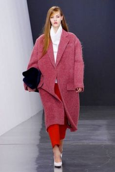 77ed931a331 Oversized Coat. Fall Fashion 2013. #fallfashion #oversizedcoat #trends  Fashion Show Collection