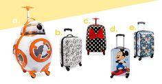 Disney Luggage   Everything Disney for better air travel   [ https://style.disney.com/living/2016/06/07/everything-disney-for-better-air-travel/ ]