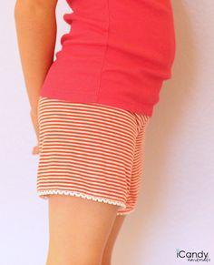 Knit Shorts with free pattern - so super cute!!!  iCandy Handmade