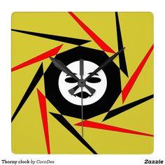Thorny clock