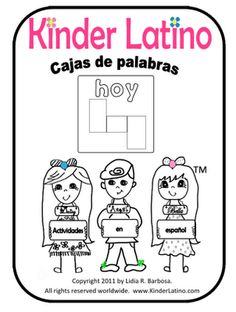 Kinder Latino: Bilingual Teaching Resources: Spanish Freebies