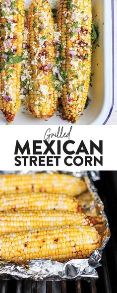 wonder how to make Mexican Street Corn? Fresh off the grill Mexican Street Corn is the absolute best. We've got a super simple Grilled Mexican Street Corn recipe that will make your tastebuds dance and your tummy asking for seconds! Mexican Street Corn Salad, Mexican Street Food, Mexican Corn, Mexican Grilled Corn, Cooking Avocado, Corn Salad Recipes, Mexican Dinner Recipes, Healthy Recipes, Orzo