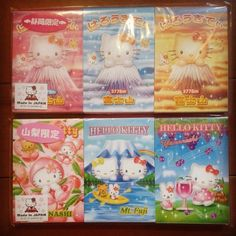 #ShareIG Sanrio Hello Kitty regional mimi memo pads.