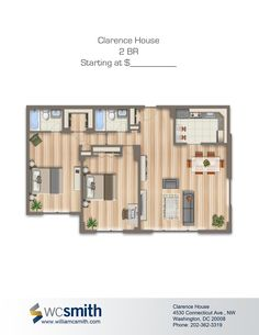 2 Bedroom Apartments For Rent In Dc Endearing Intricate Wood Flooring  Clarence House In Northwest Washington Inspiration Design
