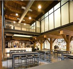 this two story setup is cool - Holstar Brewery