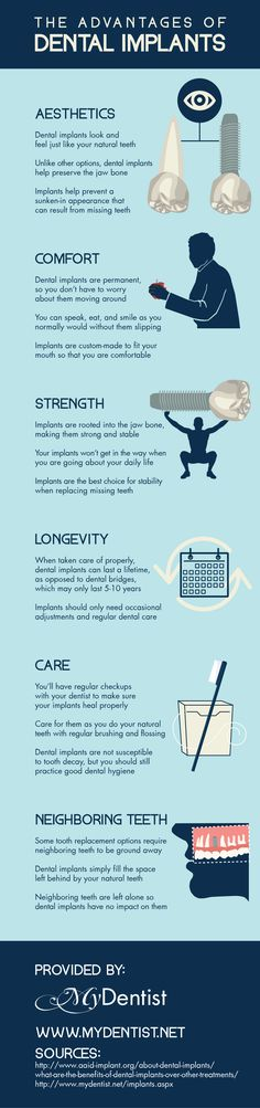 When it comes to replacing missing teeth, dental implants tend to be strong, comfortable, and convenient! Learn more by reading through this infographic on the advantages.