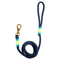 Hudson Dog Collar Navy Key Lime by Ruggedwrist | Fab.com $42