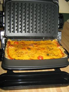 You can even make *Lasagna* in the grill!