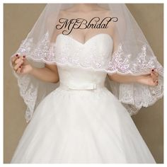 Waltz veil,Wedding veil, bridal veil, mantilla veil, traditional wedding veil, Church veil, sequins veil, bride veil, waltz veil, long veil by MJBbridal on Etsy