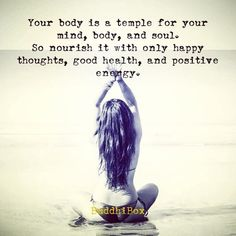 nourish your body well