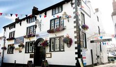 The Swan and Royal Hotel, Clitheroe. Seen in Daughter of the Regiment (1997)