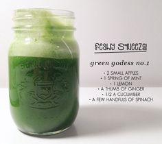 Juicing - Green Juice - Crazy Sexy Diet