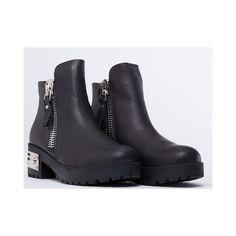 e62fee29231 UNIF Gosh Boot ( 165) found on Polyvore. UnifBlack Boots