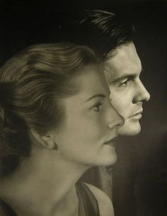 Joan Fontaine and Louis Jourdan, publicity shot for Letter From An Unknown Woman (Max Ophuls, 1948)