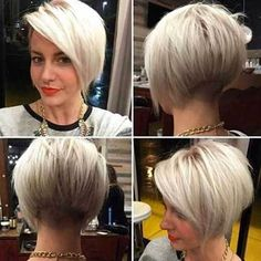 12 Bold and Stylish Pixie Hairstyles: #4. Pixie-Bob Hairstyle 2017