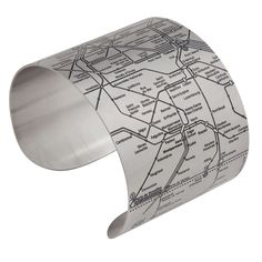Paris Metro Cuffs