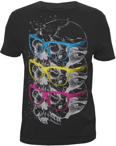 Skulls and shades just work ~ Designed for Bluenotes