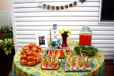Perfect food for a girl's night or baby shower!