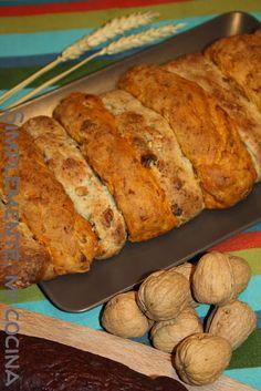 Pan de sobrasada y Pan de nueces