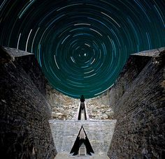Charles Ross - Starr Axis, in New Mexico. I have to go visit this place someday!