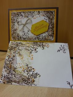 Geburtstagskarte, Timeless textures, stampin up