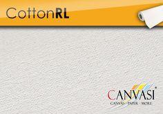 Cotton RL Canvas Paper, Company Logo, Cotton, Base Coat, Canvas