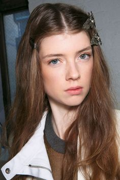 When humidity is working against you, a smattering of hair accessories provide a genius foil for frizz.