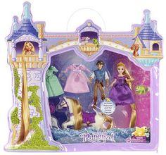 Poupée Disney Princesses - Méga Coffret Raiponce