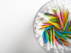 Why I Always Keep a Stash of Q-Tips In My Kitchen Ear Wax Buildup, How To Make Waffles, Ear Wax Removal, Dry Skin Remedies, Take A Shower, Cringe, Cleaning Hacks, Cleaning Solutions, Cooking Tips