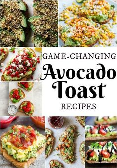 17+ Game-Changing Avocado Toast Recipes perfect for any time of day and will blow your mind! | dreamingofleaving.com