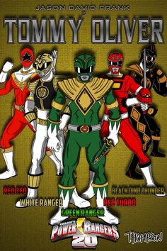Tommy Oliver(Jason David Frank), Power Ranger Legend!