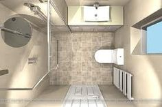Ensuite small walk in on pinterest contemporary for Small ensuite wet room ideas