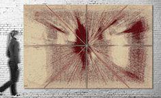 Exposición virtual / Título: Munch I (serie Tributes) / Medida original: 300 x 196 cm / Resolución: 120 p.p. / Formato de imagen: JPEG / Color estándar: CMYK  / Peso digital: 422 Mb