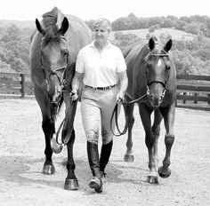 """Perspective- what the 'super pony' looked like next to his competition. """"Teddy"""" Theodore O'Connor. One in a million."""