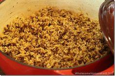 Homemade Uncle Ben's Long Grain & Wild Rice