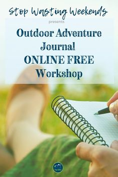 If a field notebook and a bullet journal had a baby it would be the Outdoor Adventure Journal! Outdoor Gear Review, Adventure Holiday, Nature Journal, Journal Prompts, Family Camping, The Great Outdoors, Road Trip, 3d Printing, Layouts