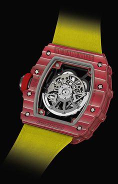 Richard Mille lanza una nueva edición del reloj de Nadal Richard Mille, Rafael Nadal, Types Of Balance, How To Draw Hands, Jewels, Clock, Watches, Black Box, Innovative Products