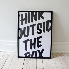 think outside the box #uixdetroit