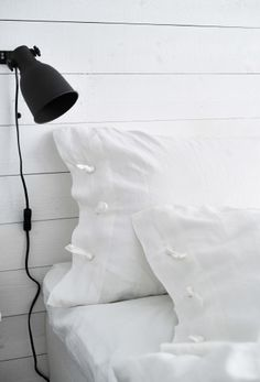 Add directional lamps for reading in bed