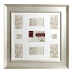 Wide Edged 9 Photo Frame | Dunelm